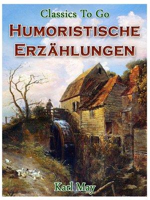 cover image of Humoristische Erzählungen