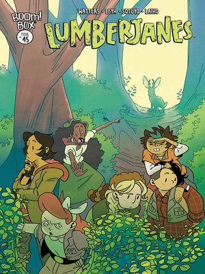 cover image of Lumberjanes, Issue 45
