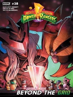 cover image of Mighty Morphin Power Rangers (2016), Issue 38