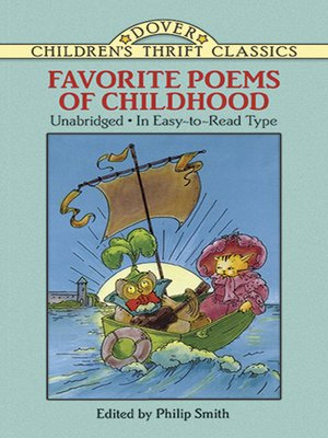 cover image of Favorite Poems of Childhood