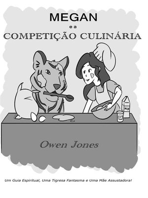 cover image of Megan e a Competição Culinária
