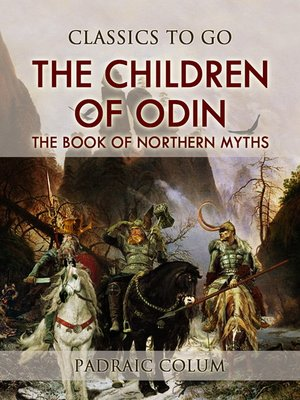 cover image of The Children of Odin  the Book of Northern Myths