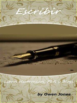 cover image of Escribir