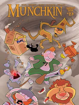 cover image of Munchkin (2015), Issue 19