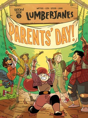 cover image of Lumberjanes, Issue 37