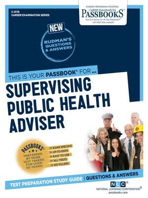 cover image of Supervising Public Health Adviser