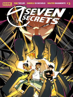 cover image of Seven Secrets, Issue 3
