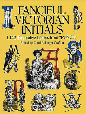cover image of Fanciful Victorian Initials