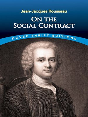 cover image of On the Social Contract