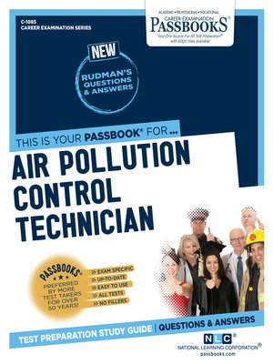 cover image of Air Pollution Control Technician