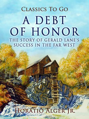 cover image of A Debt of Honor