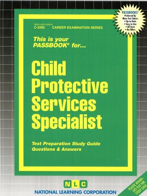 cover image of Child Protective Services Specialist