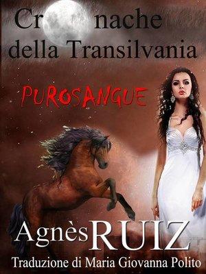 cover image of Purosangue