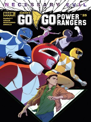 cover image of Saban's Go Go Power Rangers, Issue 25