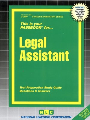 cover image of Legal Assistant