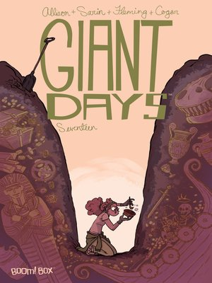 cover image of Giant Days (2015), Issue 17