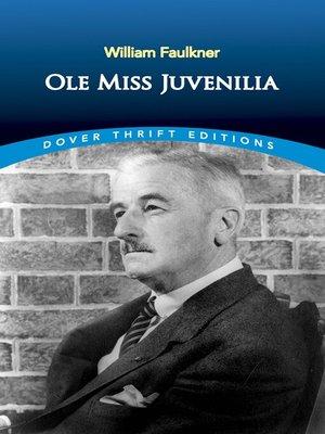 cover image of Ole Miss Juvenilia