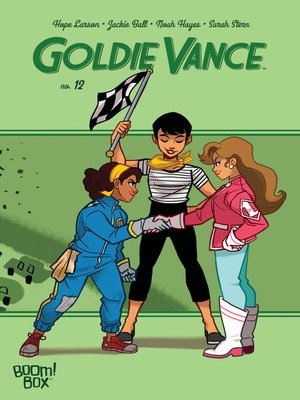 cover image of Goldie Vance, Issue 12