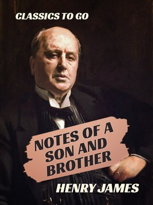 cover image of Notes of a Son and Brother