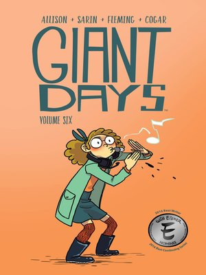 cover image of Giant Days (2015), Volume 6
