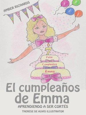 cover image of El cumpleaños de Emma