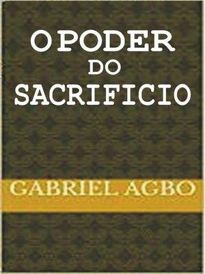 cover image of O poder do sacrifício