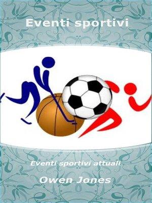 cover image of Eventi sportivi