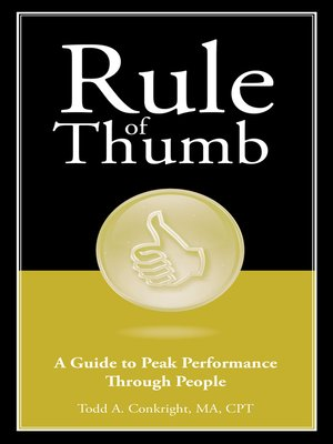 cover image of Rule of Thumb