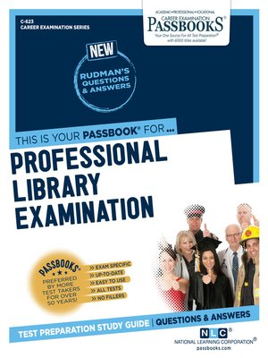 cover image of Professional Library Examination