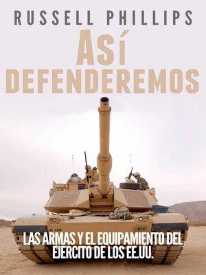 cover image of Así defenderemos
