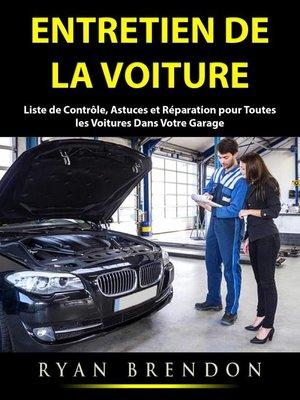 cover image of Entretien de la Voiture