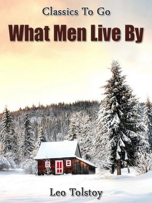 cover image of What Men Live By