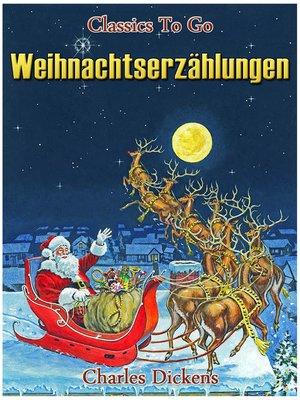 cover image of Weinachtserzählungen