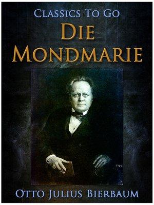 cover image of Die Mondmarie