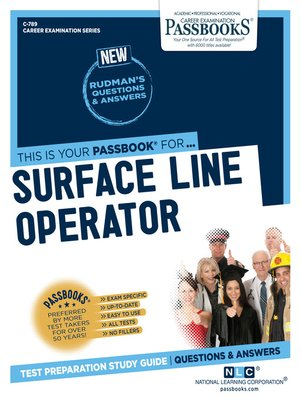 cover image of Surface Line Operator