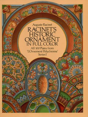 cover image of Racinet's Historic Ornament in Full Color