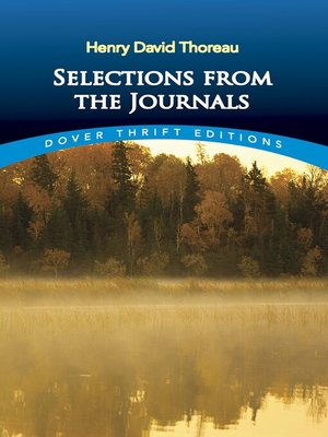 cover image of Selections from the Journals