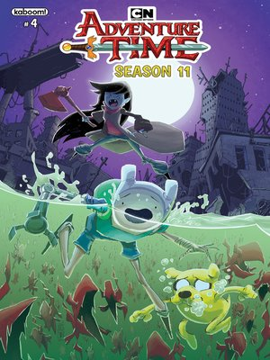 cover image of Adventure Time Season 11, Issue 4
