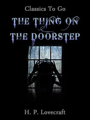 cover image of The Thing on the Doorstep