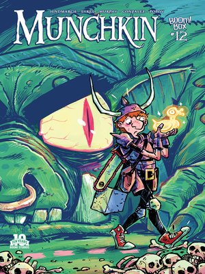 cover image of Munchkin (2015), Issue 12