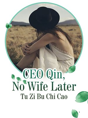 cover image of CEO Qin, No Wife Later