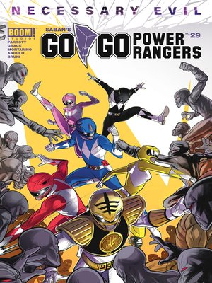 cover image of Saban's Go Go Power Rangers #29