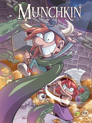 cover image of Munchkin (2015), Volume 5