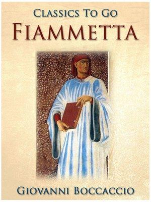 cover image of Fiammetta