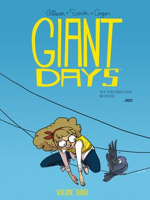 cover image of Giant Days (2015), Volume 3