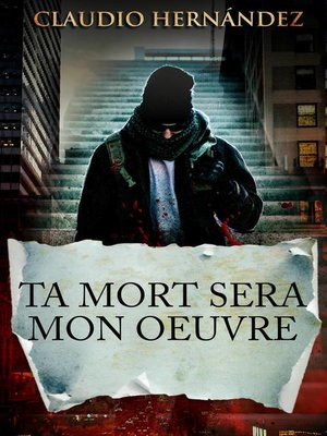 cover image of Ta mort sera mon oeuvre