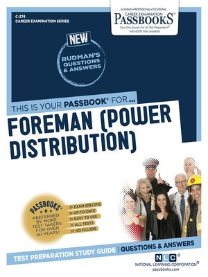 cover image of Foreman (Power Distribution)