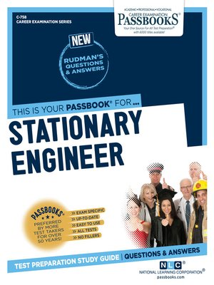 cover image of Stationary Engineer