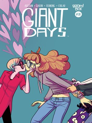 cover image of Giant Days (2015), Issue 30