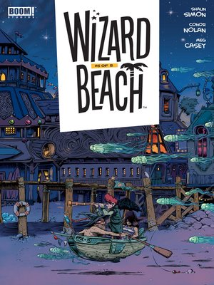 cover image of Wizard Beach, Issue 5